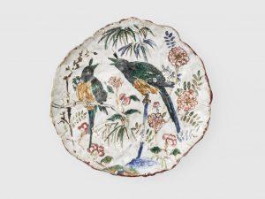 untitled, 2002 ceramic, glaze .5 x 7.75 x 8 inches
