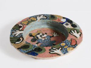 untitled, 2016 ceramic, glaze 1.25 x 7.25 x 7.25 inches