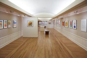 <i>Corita Kent: Spiritual Pop</i>, 2016 </br>  installation view, Portland Art Museum, portland