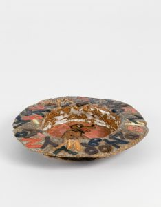 untitled, 2014 ceramic, glaze 1.1 × 6.75 × 6.9 inches