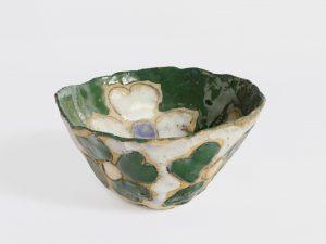 untitled, 1981 ceramic, glaze 3.5 x 6.13 x 5.75 inches