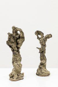 trees, 2014 glazed stoneware, 23 × 10 × 7 cm