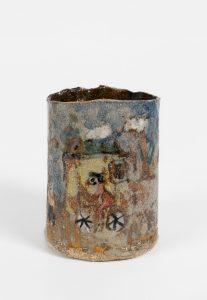 untitled, 2016 ceramic, glaze 4.4 × 3 × 3.75 inches