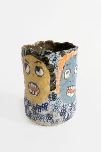 untitled, 2017 ceramic, glaze 7 × 5 × 4.75 inches
