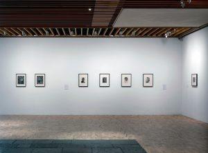 "john stezaker, installation view ""john stezaker"" at whitworth gallery manchester, 2017-18"