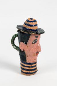 untitled, 2016 ceramic, glaze 6.75 × 2.25 × 4 inches
