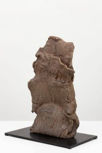 stele, 2012 wood klin, fired stoneware, 62 × 50 × 30 cm