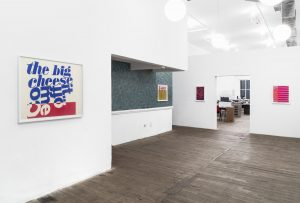 <i>Corita Kent, Works from the 1960s</i>, 2019 </br> installation view, kaufmann repetto, New York