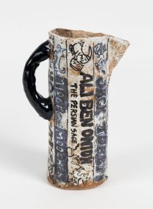 untitled, 2016 ceramic, glaze 7.5 × 5 × 2.75 inches