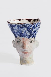 untitled, 2004 ceramic, glaze 3.5 x 3 inches