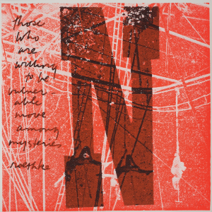 <i>N willing to be vulnerable</i>, 1968
