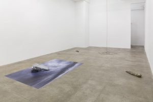<i>to begin a time</i>, 2018</br> installation view, kaufmann repetto, new york