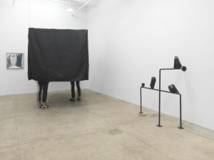 <i>cracking nuts</i>, 2014</br>installation view at kaufmann repetto, new york