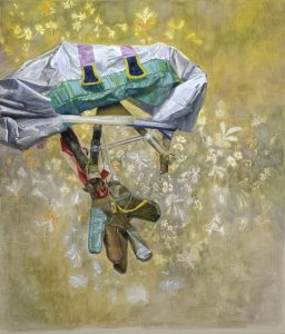 pierpaolo campanini, untitled, 2005 gouache on canvas, 70 x 60 cm
