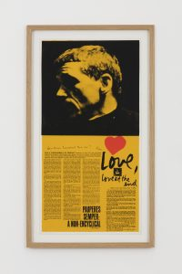 <i>love at the end</i>, 1969