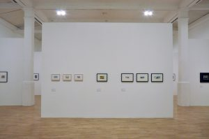 "john stezaker, installation view ""john stezaker"" at whitechapel gallery london, 2011"