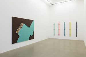 <i>earthquake weather</i>, 2015</br>installation view, kaufmann repetto, milan