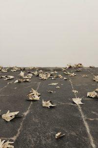 pae white, my falls, installation view, francesca kaufmann, milan, 2008
