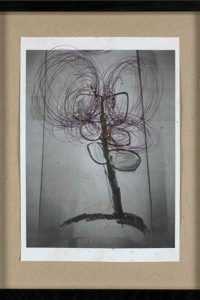 thomas zipp, erikatin, 2009 mixed media on paper, 30,5 x 39,5 cm