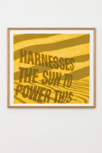 <i>harness the sun</i>, 1967