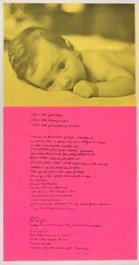 christy, 1969, screenprint, 30,5 x 58,4 cm / 12 × 23 in