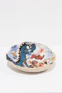 magdalena suarez frimkess, untitled, 2016 ceramic, glaze, 2,54 × 12,7 × 12,7 cm 1 x 5 x 5 in