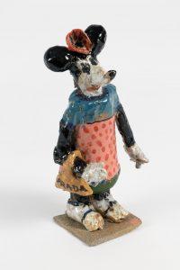 ntitled, 2016 ceramic, glaze 8.25 × 4 × 3 inches