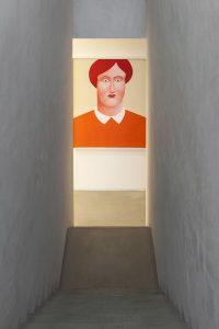 two naked women, installation view, kaufmann repetto, milan, 2015