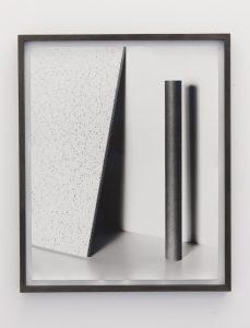 talia chetrit, triangle/tube, 2011 silver gelatin print, 51 x 41 cm