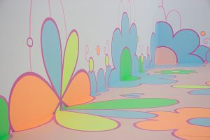 <i>flower floor painting</i>, 2010