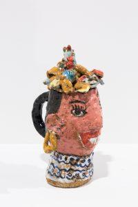 magdalena suarez frimkess, untitled, 2016 ceramic, glaze, 18,41 × 11,43 × 16,51 cm 7 1/4 x 4 1/2 x 6 1/2 in