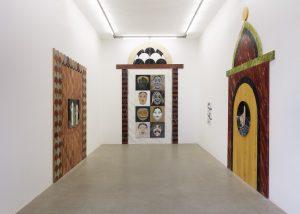 pietra dura, installation view, kaufmann repetto, milano, 2018