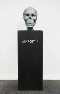 thomas zipp, margitin, 2009 travertine marble, 200 x 60 x 60 cm