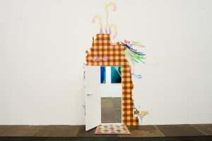 <i>door wall painting</i>, 2008