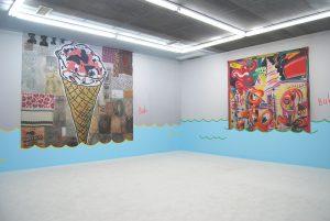 <i>who's afraid of jasper johns?</i>, 2008 </br> installation view, tony shafrazi gallery, New York