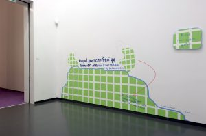 <i>the complaints club</i>, 2005 </br> installation view, van abbemuseum, eindhoven, the netherlands, 2005