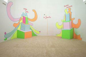 <i>uncle jean aunt annie</i>, 2004 </br> installation view, bonnefanten musem, maastricht