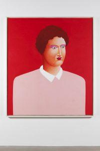 nicolas party, portrait, 2015 pastel on canvas, 170 x 150 cm