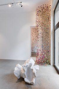 demimondaine, installation view, kaufmann repetto, milano, 2017