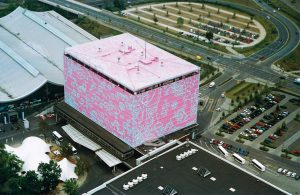 <i>the pink building</i>, 2000