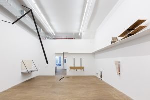 <i>Notes on light and sound of objects</I>, 2020 </br> installation view, kaufmann repetto, New York