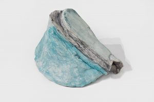 <i>untitled</I>, 2020 </br> plaster, paint, 14 x 25,4 x 17,8 cm / 5.5 x 10 x 7 in
