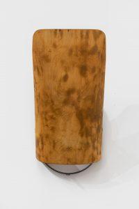 <i>Untitled</I>, 2020 </br> wood, metal </br> 102,9 x 47 x 24,8 cm / 40.5 x 18.5 x 9.8 in
