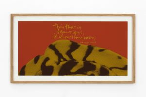 <i>it shows my way - shell writing #6</I>, 1976