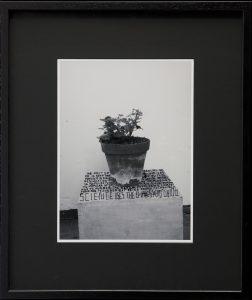Thomas Zipp, <i>A. B.: Hunger</i>, 2013 </br> marker on framed photograph </br> 62 x 52 x 3 cm / 24.4 x 20.5 x 1.2 in (framed)