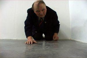 Yoshua Okón, <I>Hausmeister</i>, 2008 </br> single-channel video installation, 6'36''