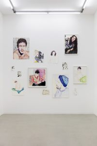 <i>muses</i>, 2019-20 </br> installation view, kaufmann repetto, milan