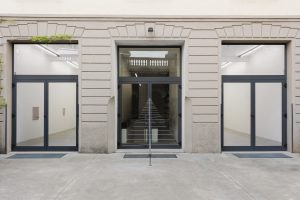 <i>Metallurgic Weather</I>, 2019 </br> installation view, Kaufmann Repetto, milan