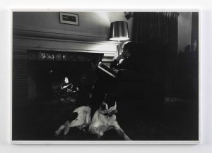 Bas Jan Ader </br> <I>The artist as consumer of extreme comfort</I>, 1968/2003 </br> silver gelatin print, 33,7 x 48,3 cm / 13.3 x 19 in