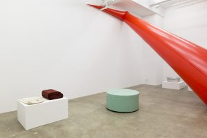 <I>the bfg</I>, 2018 </br>  installation view, kaufmann repetto, new york